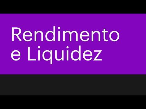 Explicando direto ao ponto o que é Rendimento e Liquidez
