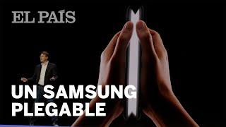 SAMSUNG: Así es su dispositivo con PANTALLA PLEGABLE