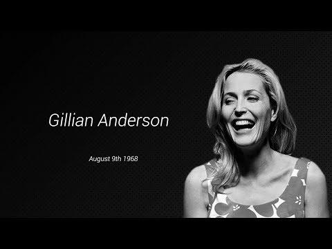 Gillian Anderson at 50