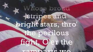 Repeat youtube video The Star Spangled Banner Lyrics Cover