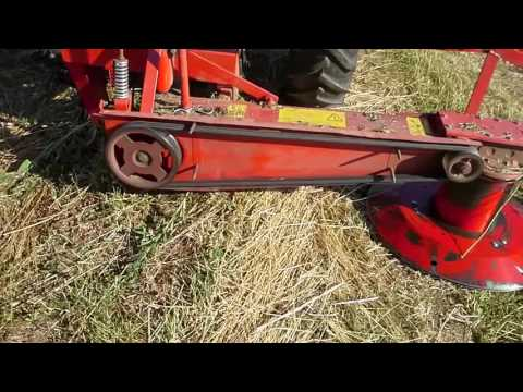 Заготовка сенажа роторной косилкой Wirax z069