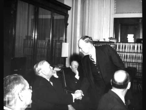 Sen. Robert Taft - Meet the Press, 1952 (2/3)
