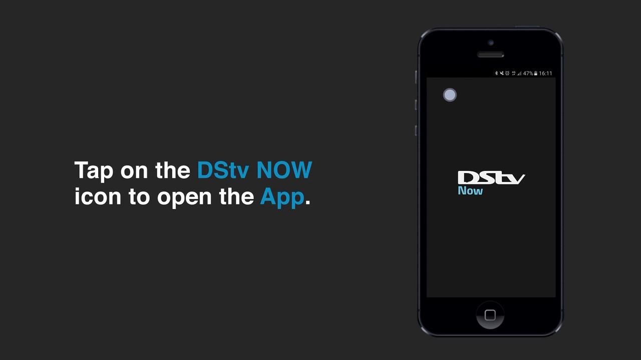 How to start using DStv Now