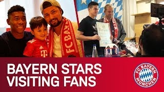 What happens when the Players visit FC Bayern Fan Clubs!