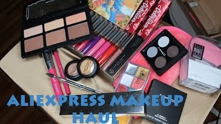 Aliexpress Makeup Haul #3 ! Sigma, KatvonD, Anastasia, Mac review and comparison!!