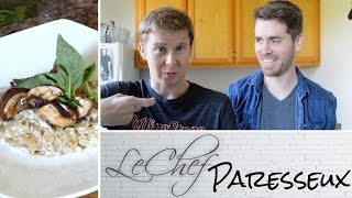Risotto. Trying Shortcuts With Marcus Mcgee On Le Chef Paresseux Ep. 30!