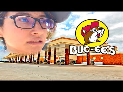 Visiting the BIGGEST GAS STATION in the WORLD!  Buc-ee's