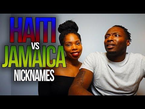 Haiti vs. Jamaica: Nicknames