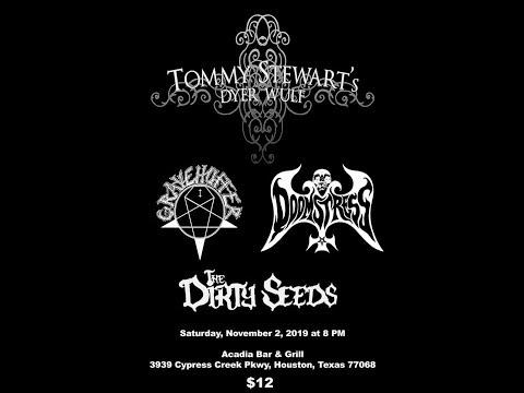 Gravehuffer - Live at Acadia - Houston Texas 11-2-19