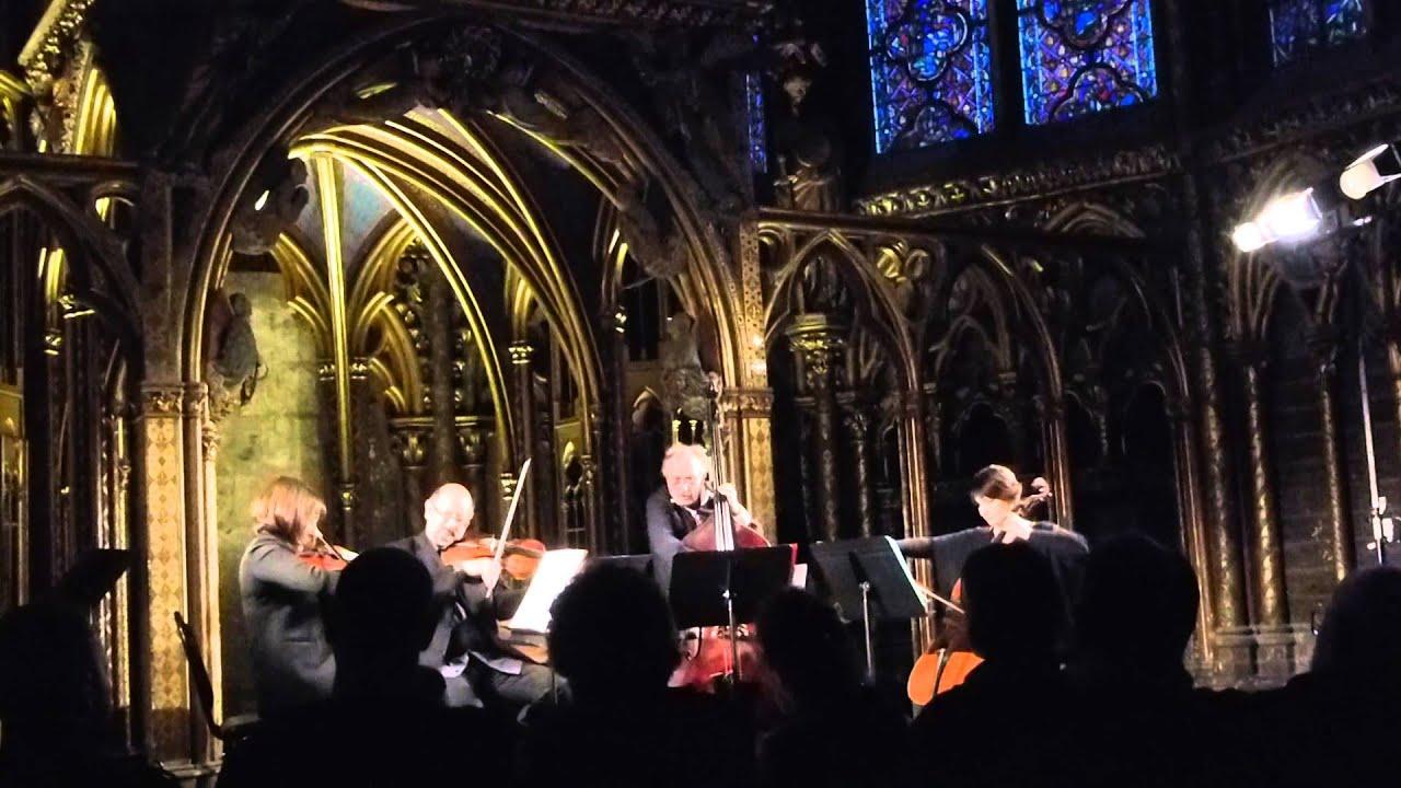 Concert in La Sainte Chapelle YouTube