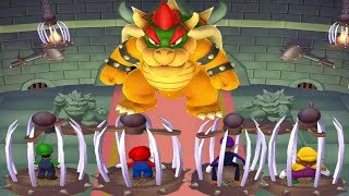 Mario Party 6 MiniGames - Mario Vs Luigi Vs Waluigi Vs Wario (Master CPU)