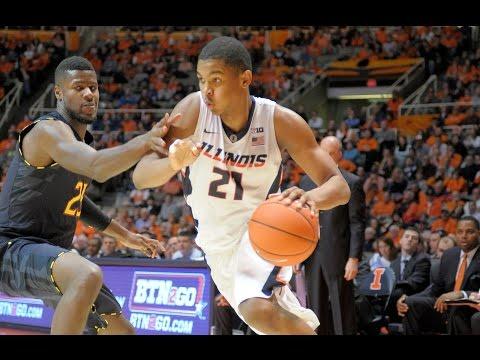 Illinois Men's Basketball Highlight vs #11 Maryland 1/7/15