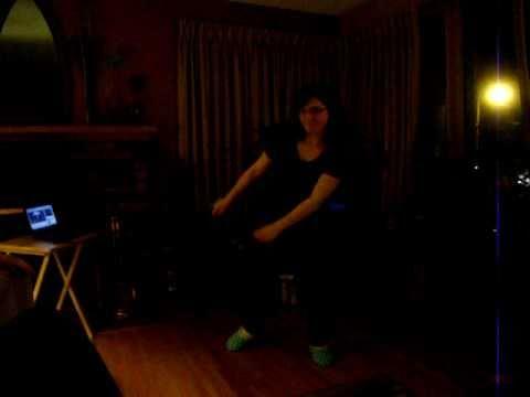 "Stephanie Miceli doing the ""Evolution of Dance"""