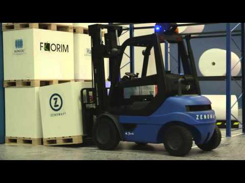 Zenoway: Connected Forklift Trucks Enabling Digital Intralogistics Solutions