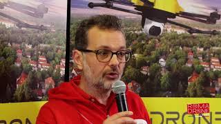 immagini al volo a Roma Drone Campus 2018