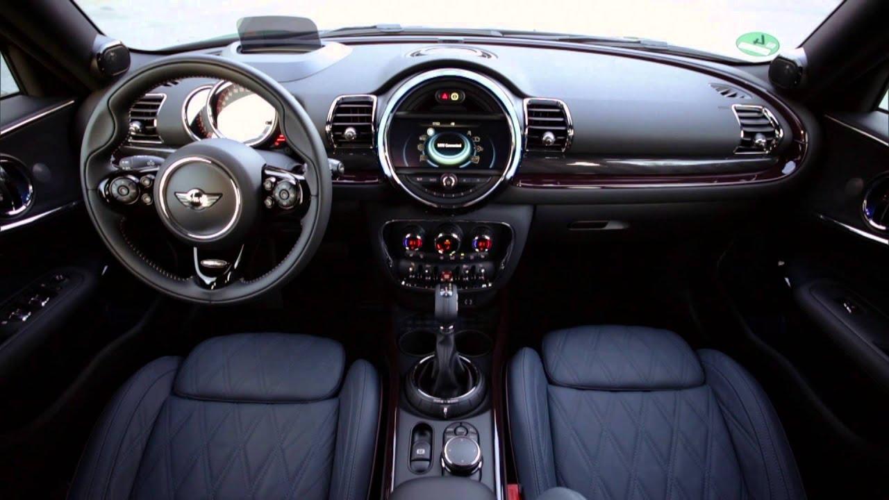 The New Mini Cooper S Clubman Pure Burgundy Interior Design