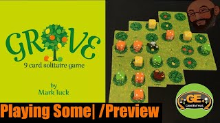 Grove 9 Card Solitaire Game Playing Some  & Preview screenshot 4