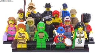 LEGO Series 5 Collectible Minifigs from 2011 reviewed!