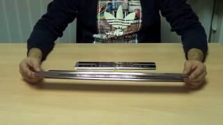 видео Накладки на пороги Ниссан Кашкай из нержавейки. Купить с доставкой по России