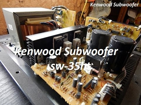 sw 36ht kenwood subwoofer connection diagram block and schematic subwoofer amplifier wiring kenwood 160w subwoofer sw 35ht look inside modification youtube rh youtube com subwoofer speaker wiring diagram