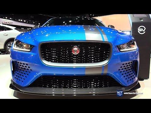 2018 Jaguar XE SV Project 8 - Exterior and Interior Walkaround - 2017 LA Auto Show