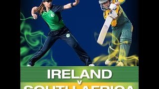 Ireland Vs South Africa First of 4 ODI's