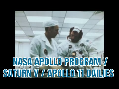 NASA APOLLO PROGRAM / SATURN V / APOLLO 11 DAILIES 34132