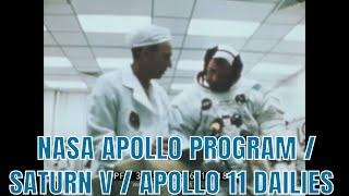 NASA APOLLO PROGRAM / SATURN V / APOLLO 11 DAILIES 34132