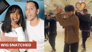 EXO ELECTRIC KISS DANCE PRACTICE REACTION (EXO REACTION)