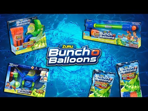 FILL 100 WATER BALLOONS IN 60 SECONDS WITH BUNCH O BALLOONS FROM ZURU! | A Toy Insider Play by Play