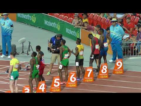 100m Semifinal 2 Enoch Adegoke 10.24 -0.8 Gold Coast 2018