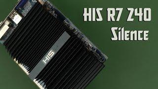 Розпакування HIS R7 240 Silence