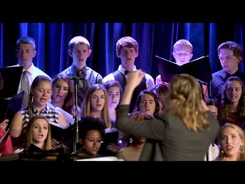 """Judson University Choir - """"He Will Hold Me Fast"""""""