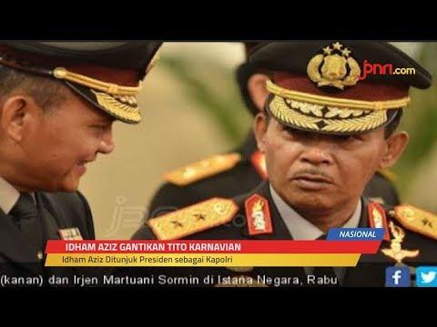 Jokowi Tunjuk Komjen Idham Aziz Jadi Kapolri