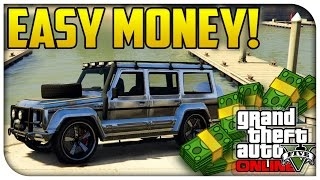 GTA 5 Online EASY MONEY! - How To Find & Sell
