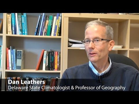 Meet Dan Leathers, State Climatologist & Geography Professor