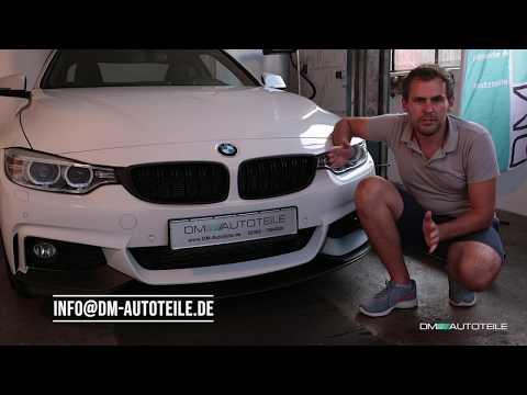 Für BMW 4er F32 F33 F36 F82 M M4 Nieren Kühlergrill Front Grill Matt Schwarz
