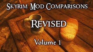 Skyrim Mod Comparisons Revised - Vol. 1 (EBT Vs. Crimson Tide)