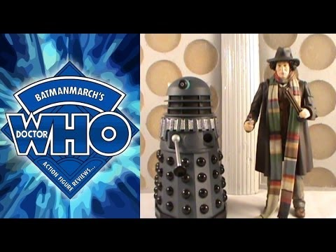 "Doctor Who 5/"" Action Figure 2 Pack 1st Doctor with Supreme Dalek"