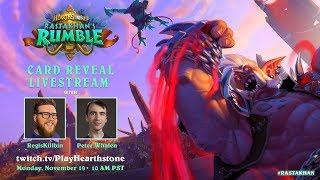 Rastakhan's Rumble | Card Reveal Livestream