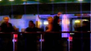 Backstreet Boys Cruise Masqurade night AJ, Brian & Leighanne