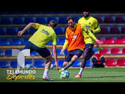 el-entrenamiento-del-barcelona-con-messi-a-la-cabeza-|-telemundo-deportes