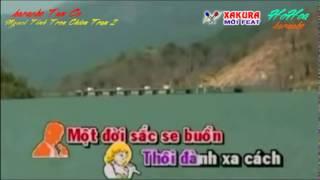 Karaoke [TRICH DOAN] Người tình trên chiến trận P2 - song ca Xakura