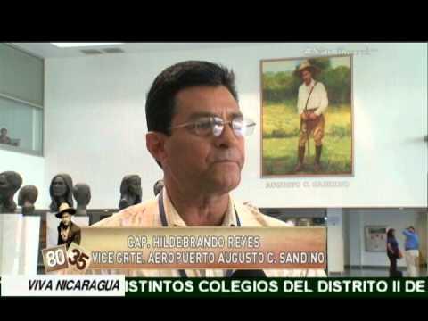 Conozca el aeropuerto Augusto C. Sandino