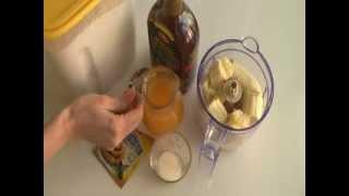 Веганские банановые блинчики:)