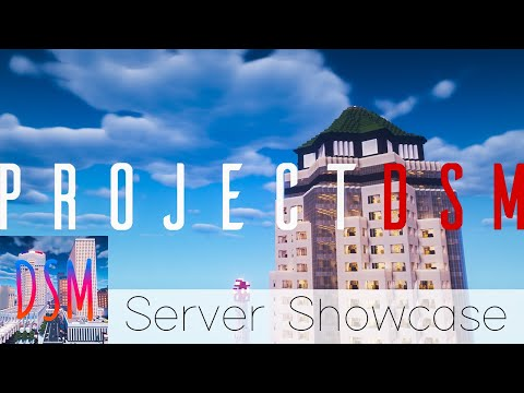 ProjectDSM   Downtown Des Moines, IA In Minecraft   Server Showcase