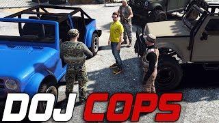 Dept. of Justice Cops #189 - Mercenaries vs Cops (Criminal)