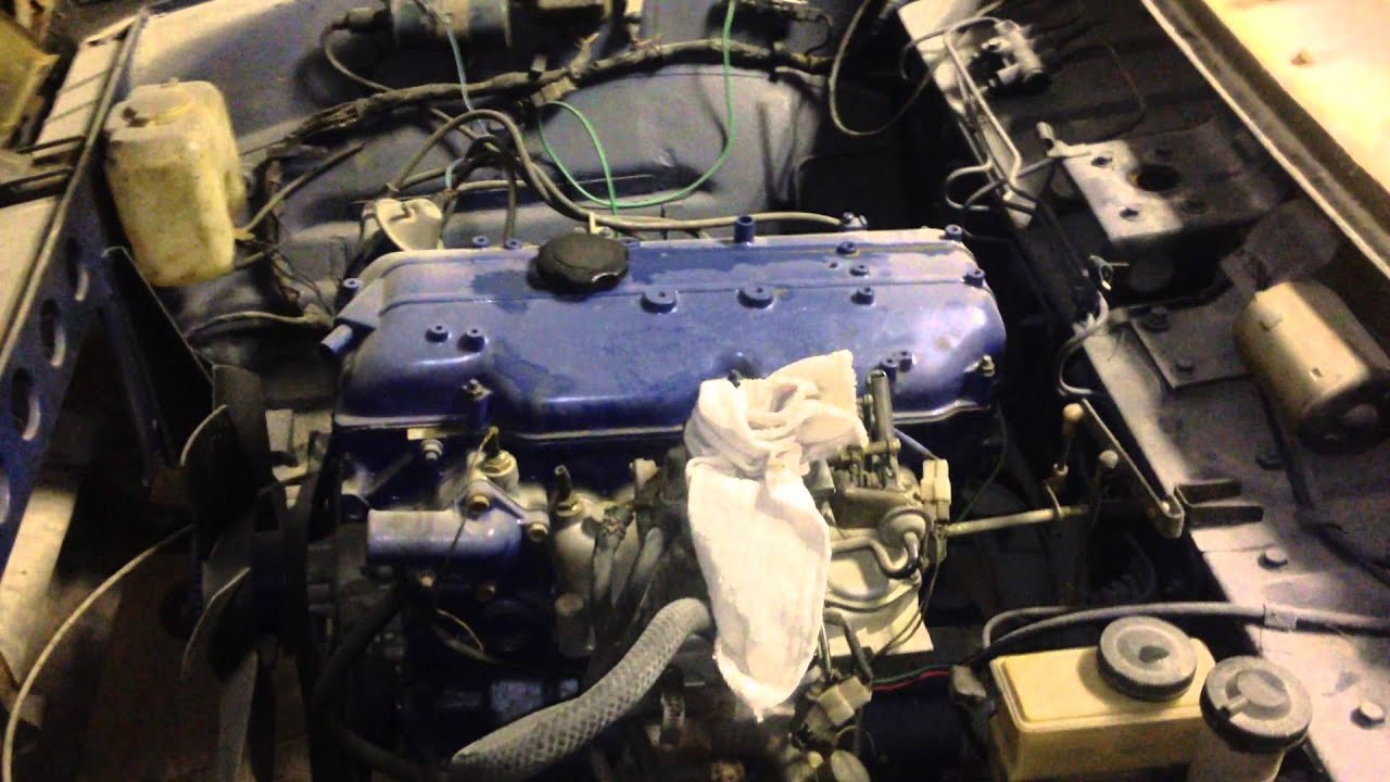 ford courier , tdi swap winter project