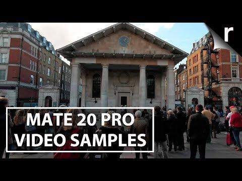 Huawei Mate 20 Pro Camera Video Samples   4K, Ultra-Wide & More