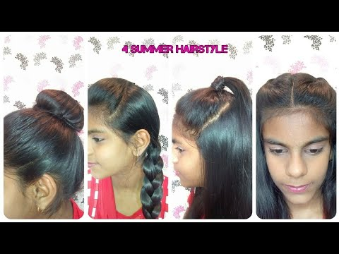 4 easy hairstyles in 1 min simple everyday hairstyles for